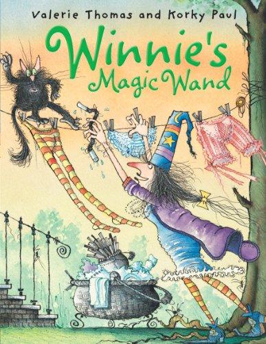 9780192726681: Winnie's Magic Wand (paperback and CD) (Winnie the Witch)