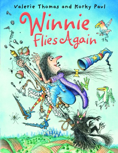 9780192726698: Winnie Flies Again (paperback and CD) (Winnie the Witch)