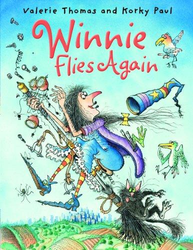 9780192726698: Winnie Flies Again with audio CD (Winnie the Witch)