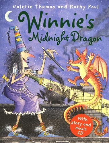 9780192727282: Winnie's Midnight Dragon (paperback and CD) (Winnie the Witch Book & CD)