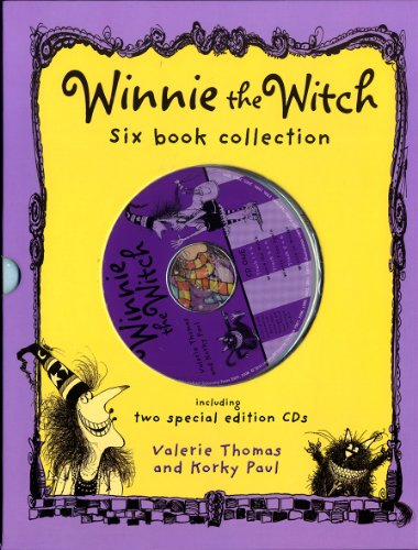 9780192728463: Winnie the Witch 6 Books and 2 CD Collection