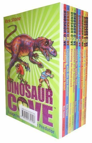 9780192731708: Dinosaur Cove Collection - 10 books set (Attack of the Lizard King, Charge of the Three-horned Monst