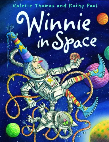 Winnie in Space. Valerie Thomas and Korky Paul