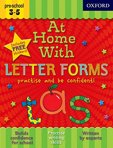 9780192733290: At Home with Letter Forms