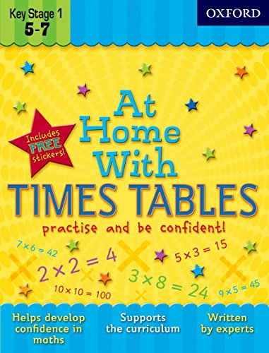 9780192733344: At Home With Times Tables