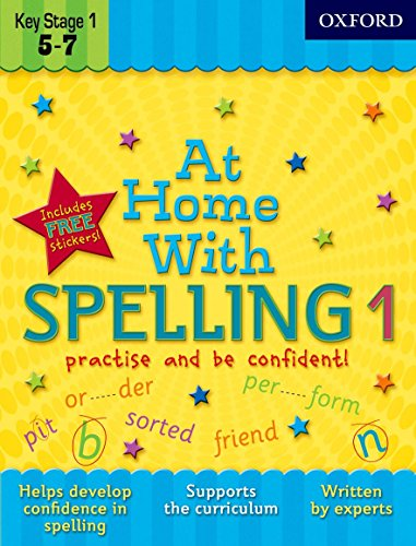9780192733351: At Home with Spelling 1