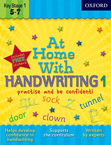 9780192733375: At Home With Handwriting 1
