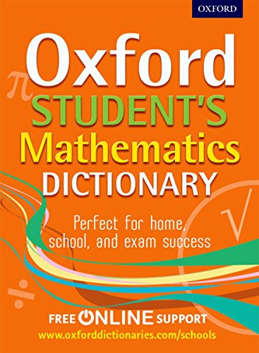 9780192733573: Oxford Student's Mathematics Dictionary