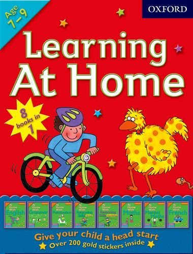 9780192733719: Oxford Learning at Home Workbook - 8 Books in 1 At Home with : 1. English 2. Grammar 3. Punctuation 4. Reasoning Skills Verbal 5. Reasoning Skills Non-Verbal 6. Maths 7. Mental Maths 8. French PLUS Over 200 Gold Stickers Inside (£31.92)