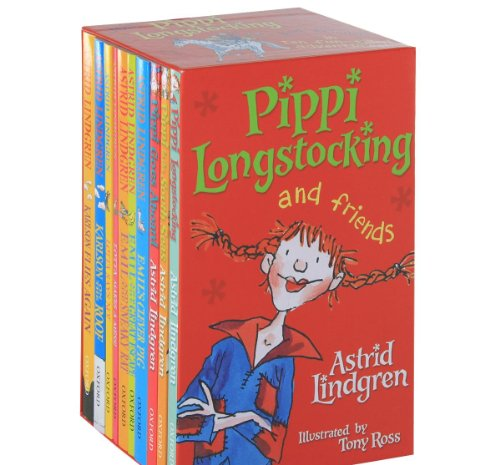 9780192733917: Pippi Longstocking (10 Books Collection)