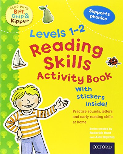 9780192734396: Reading Skills Activity Book, Levels 1-2 (Read with Biff, Chip, and Kipper)