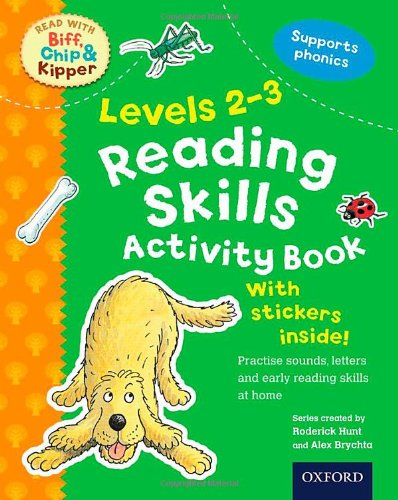 9780192734402: Reading Skills Activity Book, Levels 2-3 (Read with Biff, Chip, and Kipper)