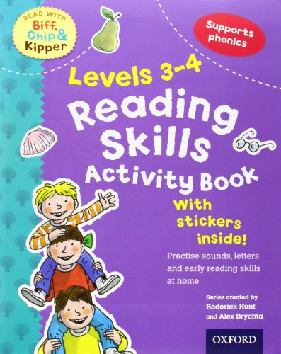 9780192734419: Oxford Reading Tree Read With Biff, Chip, and Kipper: Levels 3-4: Reading Skills Activity Book (Read With Biff Chip & Kipper)