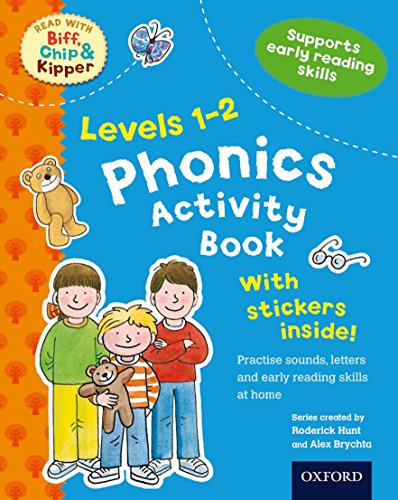 9780192734433: Phonics Activity Book, Levels 1-2 (Read with Biff, Chip, and Kipper)