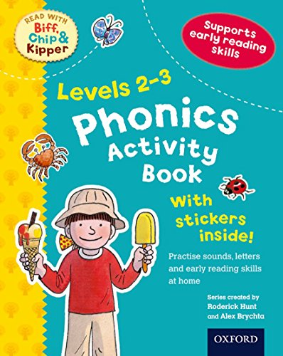 9780192734440: Oxford Reading Tree Read With Biff, Chip, and Kipper: Levels 2-3: Phonics Activity Book (Read With Biff Chip & Kipper)