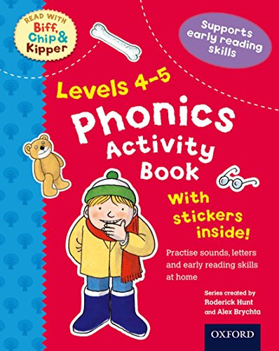 9780192734464: Oxford Reading Tree Read With Biff, Chip, and Kipper: Levels 4-5: Phonics Activity Sticker Book (Read With Biff Chip & Kipper)