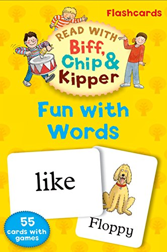 9780192734471: Oxford Reading Tree Read With Biff, Chip, and Kipper: Fun With Words Flashcards