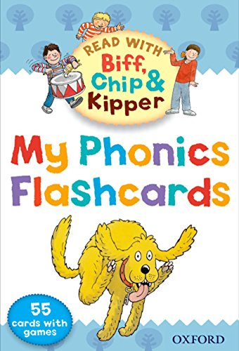 9780192734488: Oxford Reading Tree Read With Biff, Chip, and Kipper: My Phonics Flashcards (Read With Biff Chip & Kipper)