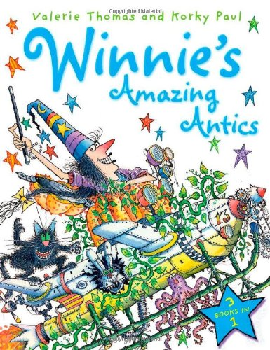 9780192734624: Winnie's Amazing Antics 3-in-1