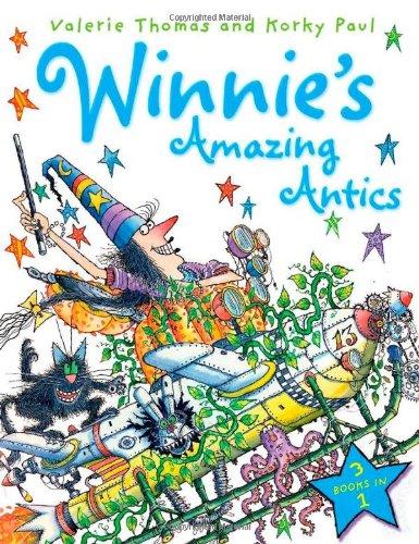 9780192734624: Winnie's Amazing Antics 3-in-1
