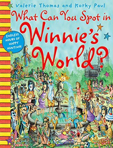 9780192735379: What Can You Spot in Winnie's World? (Winnie the Witch)