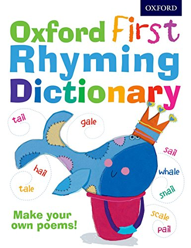 9780192735591: Oxford First Rhyming Dictionary