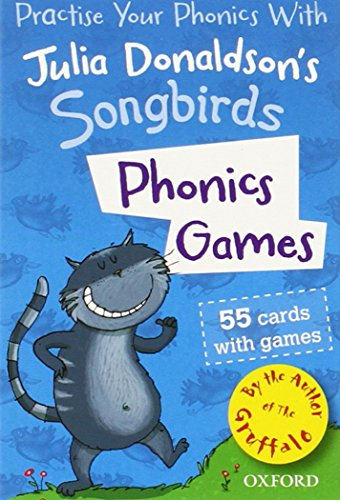 9780192735652: Oxford Reading Tree Songbirds: Phonics Games Flashcards (Practise Your Phonics With)