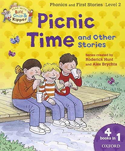 9780192736505: Oxford Reading Tree Read with Biff, Chip and Kipper: Level 2: Picnic Time and Other Stories (Biff Chip & Kipper L 2/ 4 in 1)