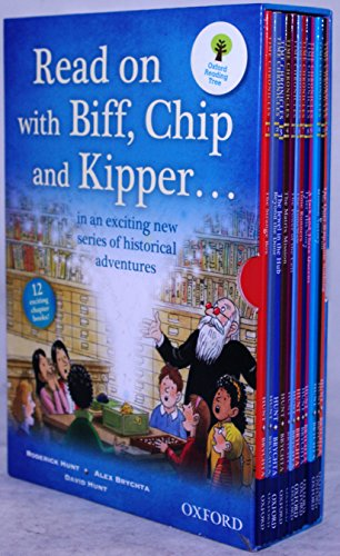 9780192736888: Read on with Biff, Chip and Kipper.... 12 Chapter Books in Slipcase, Oxford Reading Tree