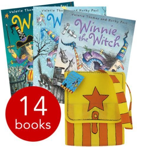 9780192736895: Winnie The Witch Collection and Satchel - 14 Books (Paperback) RRP £97.86