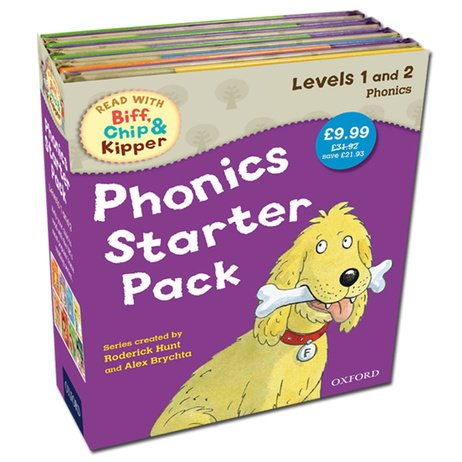 9780192736987: Read With Biff, Chip and Kipper: Phonics Starter Pack. For ages 3 to 5