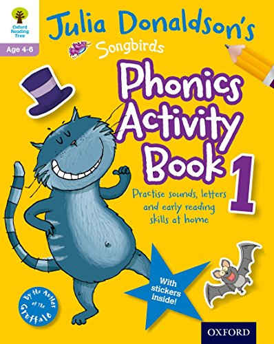 9780192737588: Oxford Reading Tree Songbirds: Julia Donaldson's Songbirds Phonics Activity Book 1 (Oxford Reading Tree Activity)