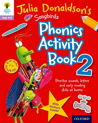 9780192737595: Oxford Reading Tree Songbirds: Julia Donaldson's Songbirds Phonics Activity Book 2