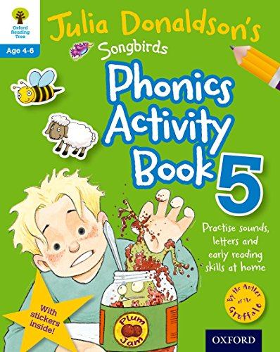 9780192737625: Oxford Reading Tree Songbirds: Julia Donaldson's Songbirds Phonics Activity Book 5 (Oxford Reading Tree Activity)
