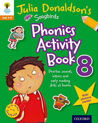 9780192737656: Oxford Reading Tree Songbirds: Julia Donaldson's Songbirds Phonics Activity Book 8 (Oxford Reading Tree Activity)