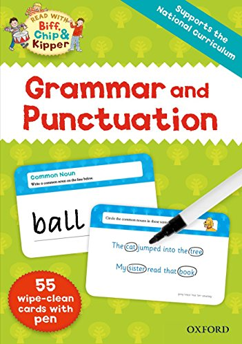 9780192737861: Oxford Reading Tree Read with Biff, Chip and Kipper: Grammar and Punctuation Flashcards