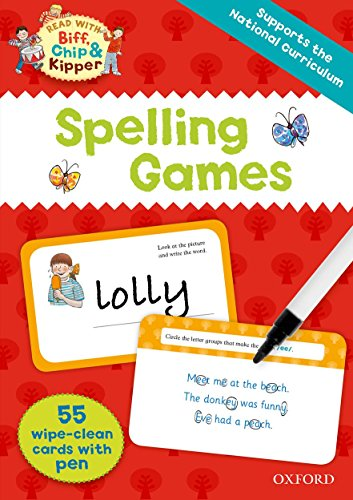 9780192737878: Oxford Reading Tree Read with Biff, Chip and Kipper: Spelling Games Flashcards
