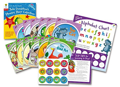 9780192739001: Oxford Reading Tree Songbirds: Levels 1+ and 2: Get Started With Julia Donaldson's Phonics Story Collection