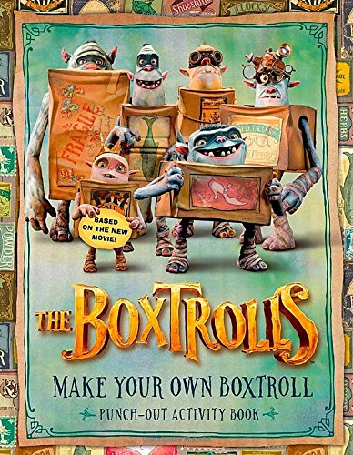 9780192739445: The Boxtrolls: Make Your Own Boxtroll Punch-Out Activity Book
