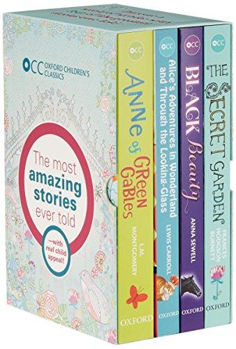 Oxford Children's Classics World of Wonder box: Montgomery, L.M.; Carroll,