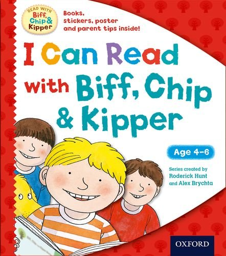 9780192739933: I Can Read with Biff, Chip and Kipper Pack