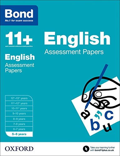 9780192739995: Bond 11+: English: Assessment Papers: 5-6 years