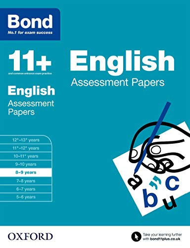 9780192740021: Bond 11+: English: Assessment Papers: 8-9 years