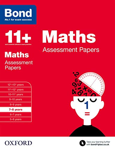 9780192740120: Bond 11+: Maths Assessment Papers: 7-8 years