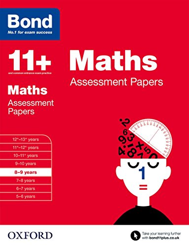 9780192740137: Bond 11+: Maths: Assessment Papers: 8-9 years