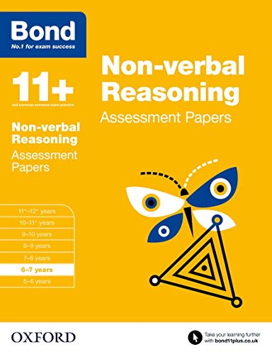 9780192740212: Bond 11+: Non-verbal Reasoning: Assessment Papers: 6-7 years