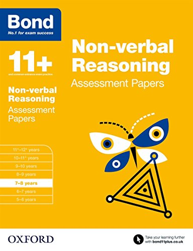 9780192740229: Bond 11+: Non Verbal Reasoning: Assessment Papers