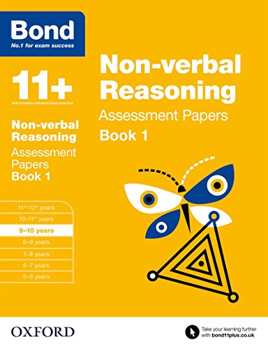 9780192740243: Bond 11+: Non Verbal Reasoning: Assessment Papers Book 1