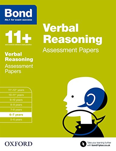 9780192740304: Bond 11+: Verbal Reasoning: Assessment Papers: 6-7 years