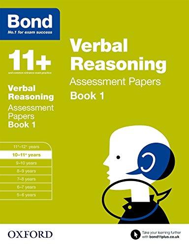 9780192740359: Bond 11+: Verbal Reasoning Assessment Papers: 10-11+ years Book 1